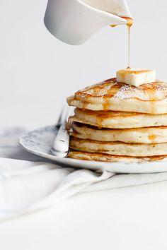 Lemon Ricotta Pancakes Recipe   Grandbaby Cakes