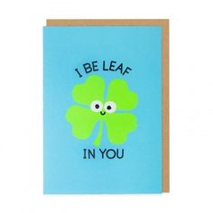 Cloverwhelming Support Greeting Card