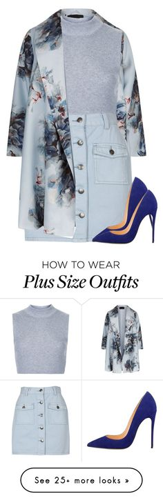 """My style is starting to evolve into classy outfits"" by alexa432 on Polyvore featuring Marina Rinaldi, Topshop and MINKPINK"