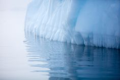 Transcendent Photos of Antarctica's Cavernous Blue Ice Glaciers