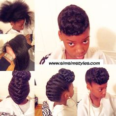 Protective hairstyle are the best hairstyles because you don't have to worry about heat damage to your curl pattern. French braid with a bun. Natural Hair Updo, Natural Hair Styles, Protective Hairstyles For Natural Hair, Curl Pattern, Hair Affair, Black Girls Hairstyles, French Braid, Curls, Braids