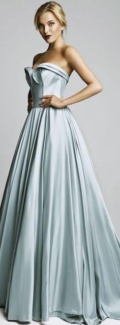 Something Blue Wedding Dresses for Cinderella