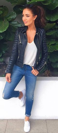 27 Casual Fall Ready Outfit 2019 Autumn is a fun and enjoyable part of changing . - 27 Casual Fall Ready Outfit 2019 Autumn is a fun and enjoyable part of changing seasons throughout - Mode Outfits, Fashion Outfits, Womens Fashion, Jackets Fashion, Lazy Outfits, Office Outfits, Night Outfits, Dance Outfits, Fashion Clothes