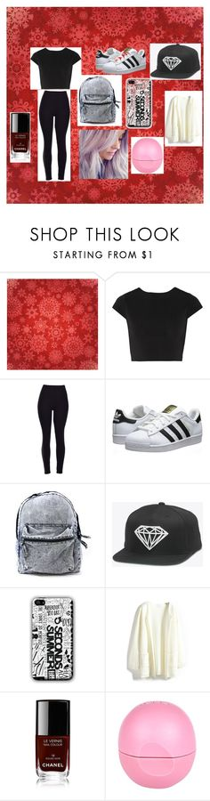 """change of face"" by magconloma on Polyvore featuring Alice + Olivia, adidas Originals, Chanel and River Island"