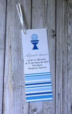 DIY PRINTABLE- Enclosure Cards - Communion Bookmarks
