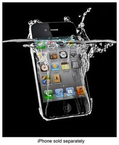 Subtech - Dryskin for Apple® iPhone® 4 & 4S - Clear