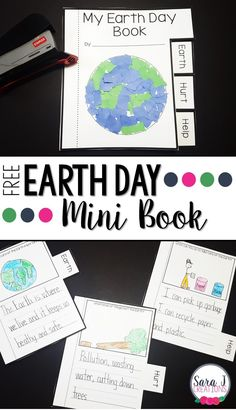 - Free Earth Day Mini Book – Classroom Freebies Free earth day printable mini bookfor kids This - Earth Day Activities, Spring Activities, Book Activities, Earth Day Kindergarten Activities, Preschool, Earth Day Projects, Earth Day Crafts, Diy Projects, Earth Day Information