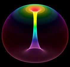 Rainbow Torus by bjman.deviantart.com on @DeviantArt