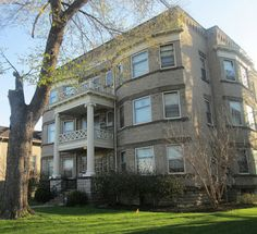 The Willdred Apartments were constructed in 1906-1907, in the classical revival style of architecture.