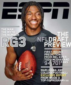 Robert Griffin III (ESPN The Magazine, NFL Draft 2012)