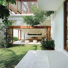 Green Interior Design, Patio Interior, Interior And Exterior, Dream Home Design, Modern House Design, My Dream Home, Green House Design, Future House, My House