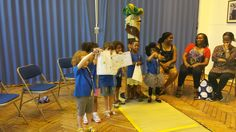 Y&T Tots Students with Certificates!