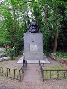 highgate cemetery london, east side, karl marx