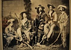 A Nice Bit of the Old west.  Wild Bill Hickok, Buffalo Bill and Texas Jack.