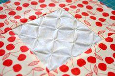 Block 11: Star gathering – Textured quilt sampler tutorial « TeresaDownUnder