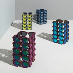 Panopticons / 3Dprinted design objet #3dprinted #design #sculpture #art #objet Sculpture Art, Cube, Creative, Design