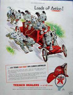 Texaco ad, 1955