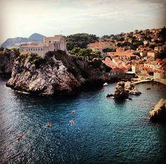 It's hard to resist swimming in the turquoise Adriatic Sea when you're on #Croatia's Dalmatian coast. Photo courtesy of @ jackiemcfadden214 via Instagram
