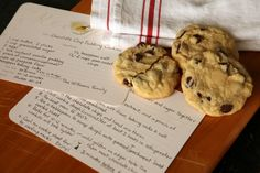 Felix Doolittle, making the ordinary extraordinary! The recipe sounds great- the recipe card makes it a wonderful gift.