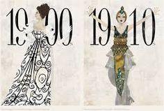 1900-10s fashion illustration