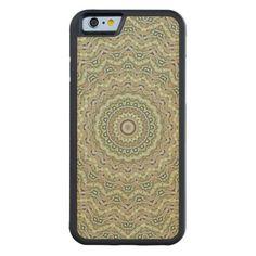 Grünes #Kaleidoskop #Bumper #iPhone 6 #Hülle #Ahorn | #Zazzle