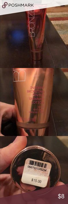 Victoria's Secret Bronzing Tinted Lotion Used once or twice.  Works great. Victoria's Secret Makeup Bronzer