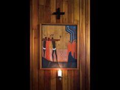Stations of the Cross as depicted by Jerzego Nowosielskiego. Parafia Niepokalanego Poczęcia NMP, Kraków – Azory