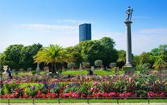 The Perfect Montparnasse Guide: A Value on the Left Bank of Paris - Brade Cadney Layout Design, Design Design, Paris Summer, Summer Sun, Luxembourg Gardens, Art Deco Buildings, Modern Garden Design, Formal Gardens, English Style