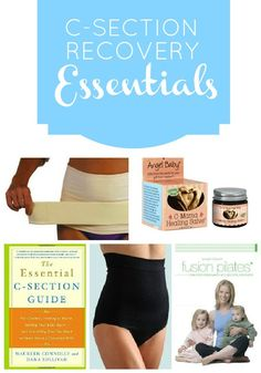 Daily Mom » C-Section: Recovery Essentials - These are must-haves for after a csection!, just in case!