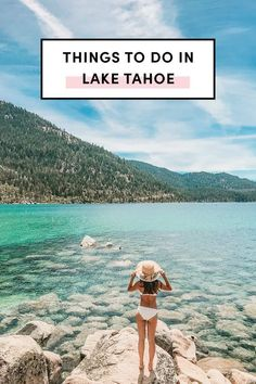 Things To Do In Lake Tahoe from A Taste Of Koko. Explore Lake Tahoe in A travel guide for where to stay hike eat and ski. Best Places To Travel, Places To Go, Travel Things, Solo Travel, Travel Usa, Lac Tahoe, Lake Tahoe Summer, Photos Voyages, Ultimate Travel