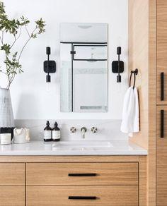 Home Decor Recibidor Westmount Landing Page Leclair Decor.Home Decor Recibidor Westmount Landing Page Leclair Decor Bathroom Renos, Small Bathroom, Master Bathroom, Teak Bathroom, Bathroom Modern, Basement Bathroom, Washroom, Bathroom Cabinets, Home Luxury