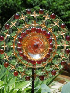 GARDEN stakes and YARD sun catcher
