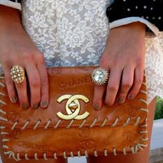 Can I have this Chanel clutch?!