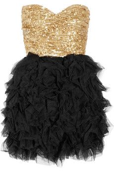 Too bad I currently have no place to wear this to...too early for NYE 2013?