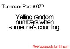 I can shut them out and count normally. Its a trait passed down through the generations in my family :P