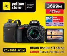 Magazin exclusiv Nikon din Romania care ofera intreaga gama de modele a unui singur producator foto. Toti cei pasionati de arta fotografica au sansa de a achizitiona online oricare dintre aparatele foto, obiectivele si produsele de optica sportiva  Nikon, precum si o paleta larga de accesorii care completeaza trusa foto a fiecarui fotograf.