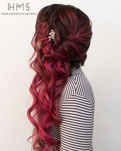 mermaid hair #hairandmakeupbysteph