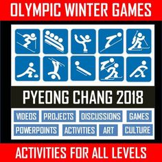 FOLLOW THIS LINK TO THE BEST 2018 WINTER OLYMPICS BUNDLE! CLICK HERE: WINTER OLYMPICS PYEONG CHANG 2018 BUNDLE Included in this AMAZING BUNDLE ....