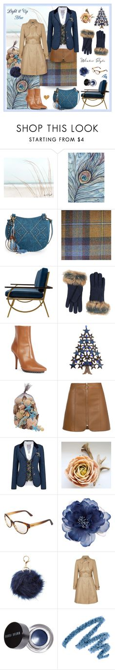 """""""Blue and Caramel"""" by magnolialily-prints ❤ liked on Polyvore featuring Elle & Jae Gypset, Linwood, UGG, Givenchy, Joe Browns, Christian Dior, Accessorize, Charlotte Russe, City Chic and Bobbi Brown Cosmetics"""