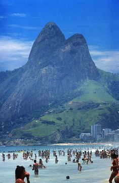 "The Beach of Ipanema, Rio de Janeiro, BrazilI wonder which one is the ""girl from Ipanema""??"
