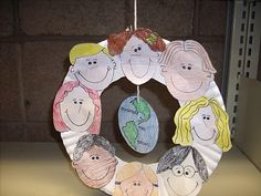 Westside Branch Library: Thursday Storytime and Craft: Diversity Wreath