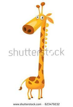 Cartoon giraffe. Vector icon Illustration Animals, Cartoon Giraffe, Vector Icons, Bulletin Boards, Image, Giraffes, Projects, Art, Display Boards