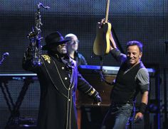 ~ The Boss and The Big Man  ~  Bruce Springsteen and Clarence Clemons ~