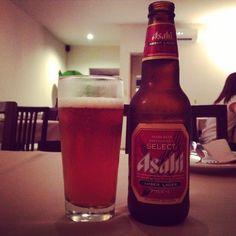 Asahi. Amber Lager. Japonesa.