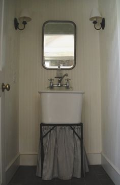 I M Not In Love With The Curtain Idea But Like This Small Deep Sink And Faucet