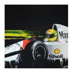 Ayrton Senna - Ilustração
