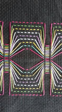 Swedish Weaving Patterns, Easy Sewing Patterns, Swedish Embroidery, Bargello, Cloth Bags, Embroidery Stitches, Cross Stitch, Knitting, Couture