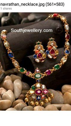 Navarathan necklace