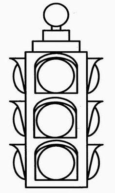 En Iyi 100 Trafik Lambası Boyama Yazdırılabilir Boyama Sayfaları