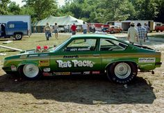 Vintage Drag Racing - Pro Stock -The Rat Pack Chevy Vega